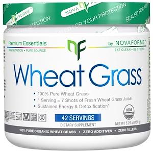 НоваФорме, Certified USDA Organic Wheat Grass, 5.29 oz (150 g) отзывы