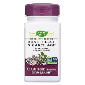 Натурес Вэй, Bone, Flesh & Cartilage, 880 mg, 100 Vegan Capsules отзывы