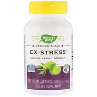 Успокаивающее средство «Стресс в прошлом», 445 мг, 100 растительных капсул - фото