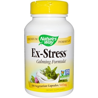 Nature's Way, Ex-Stress, 445 mg, 100 Veggie Caps