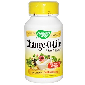 Натурес Вэй, Change-O-Life, 7 Herb Blend, 440 mg, 100 Capsules отзывы покупателей
