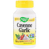 Nature's Way, Cayenne Garlic, 10 Veg. Capsules