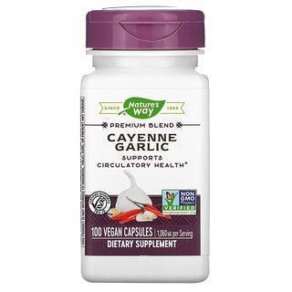 Nature's Way, Cayenne Garlic, 1,060 mg, 100 Vegan Capsules
