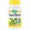 Nature's Way, Fenu-Thyme, 450 mg, 100 Vegetarian Capsules