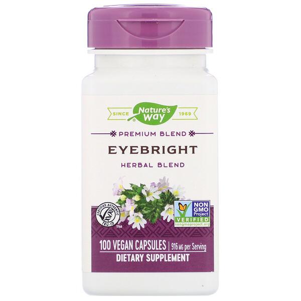 Eyebright Herbal Blend, 916 mg, 100 Vegan Capsules