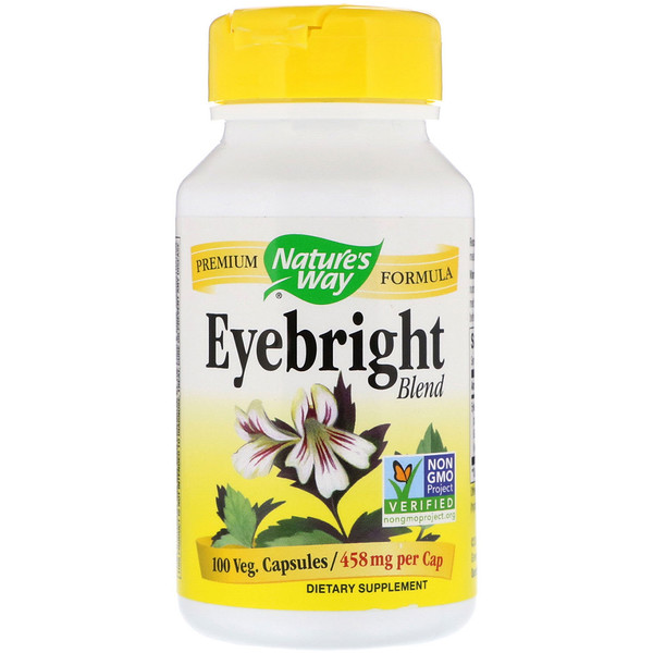 Nature's Way, Eyebright Blend, 458 mg, 100 Veg. Capsules