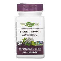 Nature's Way, Silent Night,100 粒純素食膠囊