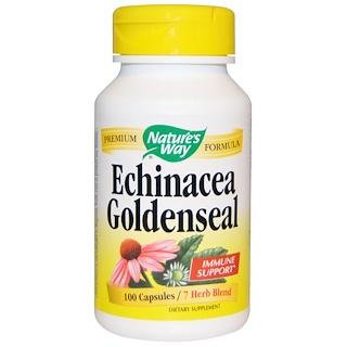 Nature's Way, Echinacea Goldenseal, 100 Capsules