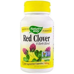 Натурес Вэй, Red Clover, 460 mg, 100 Veggie Caps отзывы покупателей