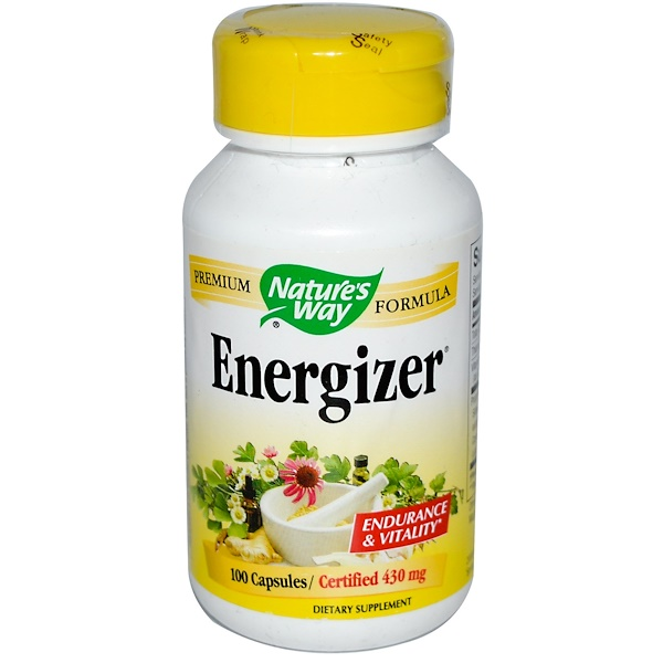 Nature's Way, Energizer, 100 Capsules (Discontinued Item)