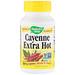 Cayenne Extra Hot, 100 Veg. Capsules - изображение