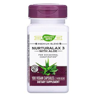 Nature's Way, Nurturalax 3 with Aloe, 100 Vegan Capsules