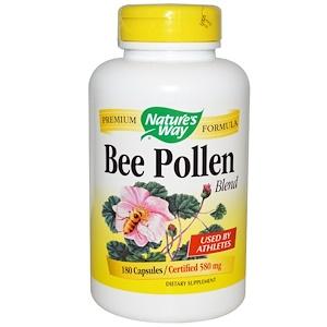 Натурес Вэй, Bee Pollen Blend, 580 mg, 180 Capsules отзывы