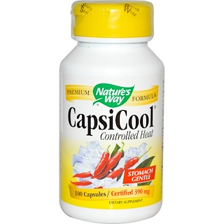 Nature's Way, CapsiCool, Controlled Heat, 100 Capsules