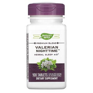 Натурес Вэй, Valerian Nighttime, 100 Tablets отзывы