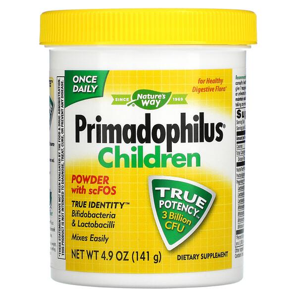 Primadophilus(プリマドフィラス)、子ども用、141g(4.9オンス)
