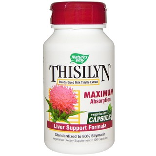 Nature's Way, Thisilyn, Liver Support Formula, 100 Capsules