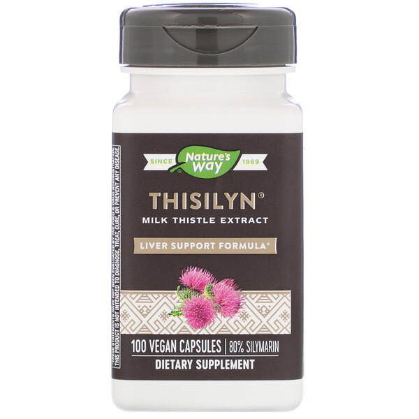 Nature's Way, Thisilyn, Liver Support Formula, 100 Vegan Capsules