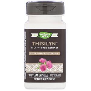 Натурес Вэй, Thisilyn, Liver Support Formula, 100 Vegan Capsules отзывы покупателей