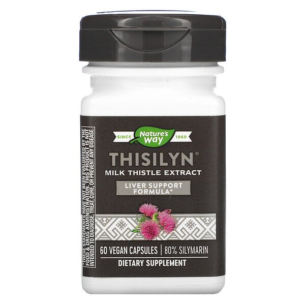 Thisilyn, Milk Thistle Extract, 60 Vegan Capsules