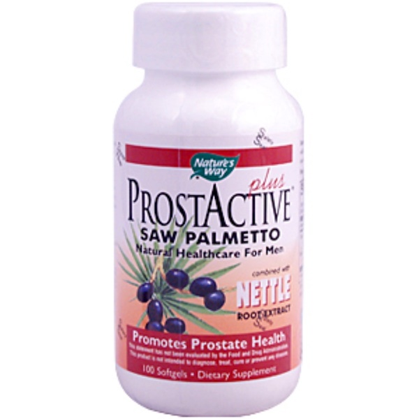 Nature's Way, ProstActive Plus Saw Palmetto, 100 Softgels (Discontinued Item)