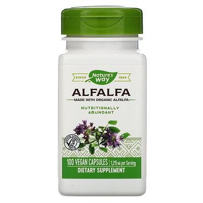 Alfalfa, 1,215 mg, 100 Vegan Capsules