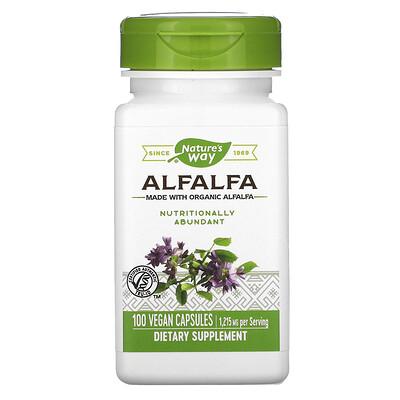 Nature's Way Alfalfa, 1,215 mg, 100 Vegan Capsules