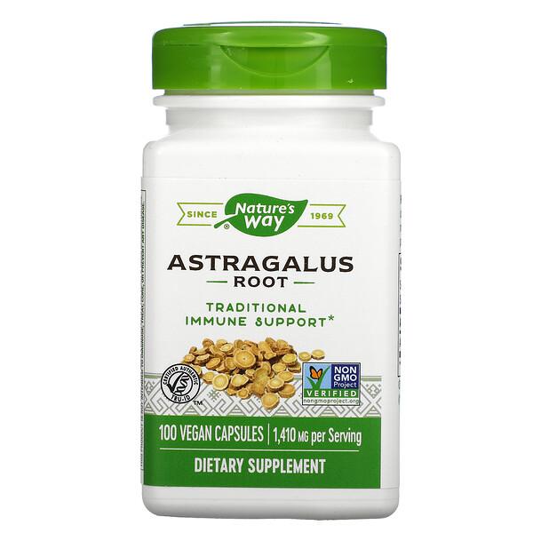 Astragalus Root, 1,410 mg , 100 Vegan Capsules