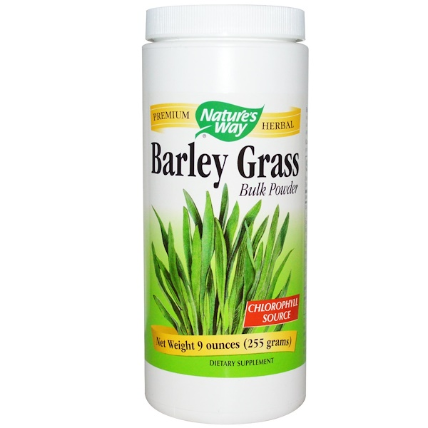 Nature's Way, Barley Grass Bulk Powder, 9 oz  (255 g) (Discontinued Item)
