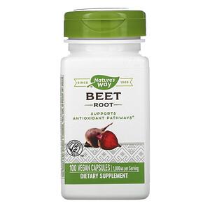 Натурес Вэй, Beet Root, 1,000 mg, 100 Vegan Capsules отзывы покупателей