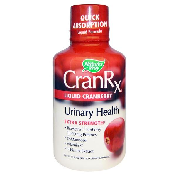 Nature's Way, CranRX, Liquid Cranberry, 16 fl oz (480 ml) (Discontinued Item)