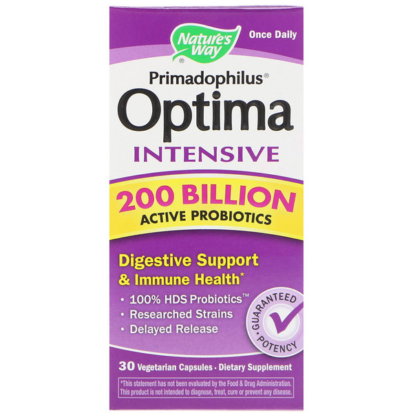 Nature's Way, Primadophilus Optima, Intensive, 30 Vegetarian Capsules