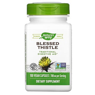 Nature's Way, Blessed Thistle, 390 mg, 100 Vegan Capsules