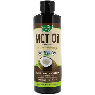 Nature's Way MCT油(椰子提煉), 16 fl oz (480 ml)