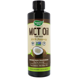 Nature's Way, Aceite MCT del coco, 16 oz (480 ml)
