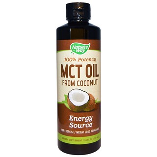 Nature's Way, Aceite MCT del coco, 16 oz (474 ml)