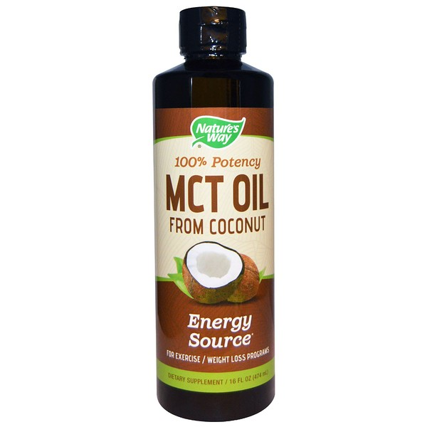 Nature's Way, MCT Oil From Coconut, 16 fl oz (474 ml)