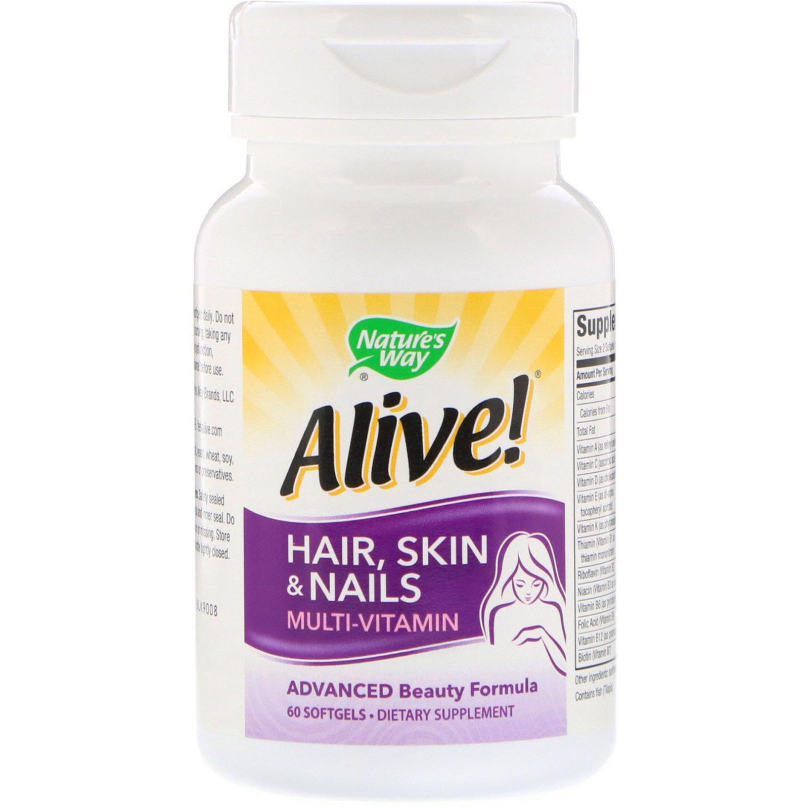 alive hair skin and nails reviews