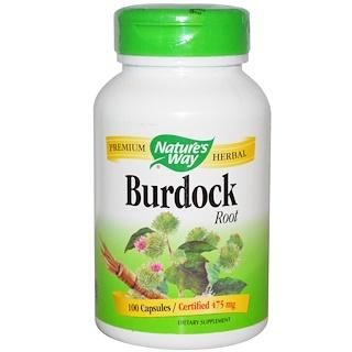 Nature's Way, Burdock Root, 475 mg, 100 Capsules
