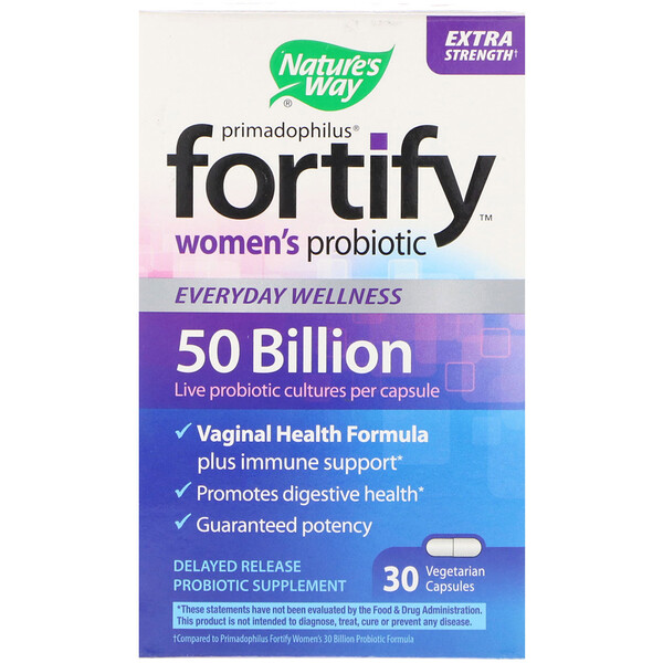 Nature S Way Probiotic Fortify Primadophilus