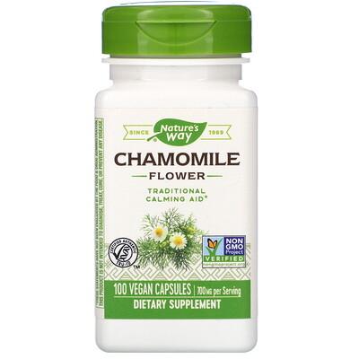 Фото - Chamomile Flower, 700 mg, 100 Vegan Capsules peppermint leaf 700 mg 100 vegan capsules