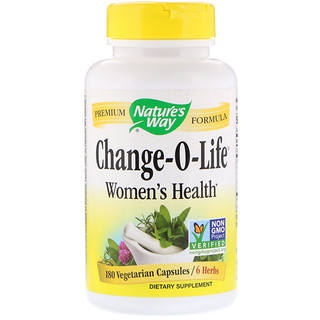 Nature's Way, Change-O-Life, Women's Health, 180 Vegetarian Capsules