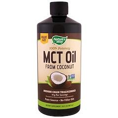 Nature's Way, 椰子中鏈脂肪酸甘油三酯,30液量盎司(887毫升)