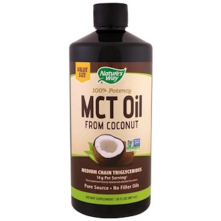 Nature's Way, MCT Öl aus Kokosnuss , 30 fl oz (887 ml)