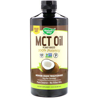 Nature's Way, MCT Oil, 30 fl oz (887 ml)