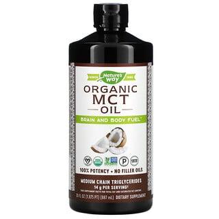Nature's Way, Органическое масло со среднецепочечными триглицеридами, 887мл (30жидк.унций)