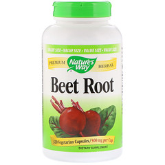 Nature's Way, Beet Root, 500 mg, 320 Vetegarian Capsules