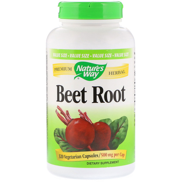 Beet Root, 500 mg, 320 Vegetarian Capsules
