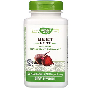 Натурес Вэй, Beet Root, 1,000 mg, 320 Vegan Capsules отзывы покупателей