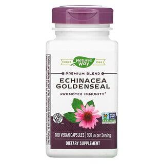 Nature's Way, Echinacea Goldenseal, 450 mg, 180 Vegan Capsules